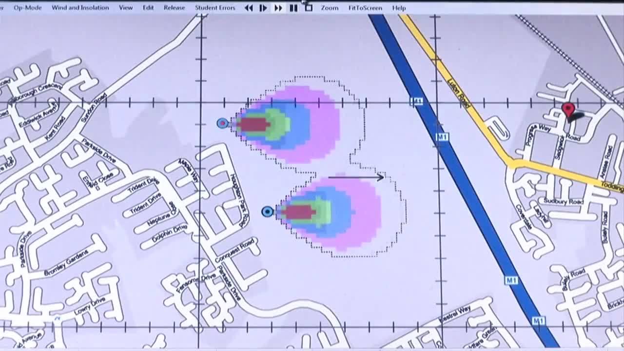 Argon PlumeSIM CBRNe - HazMat Training Simulator