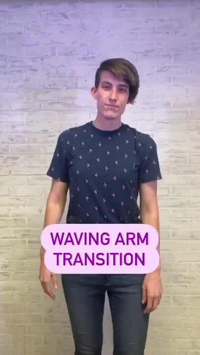 waving-arm-instagram-reels-transition-vmg-studios