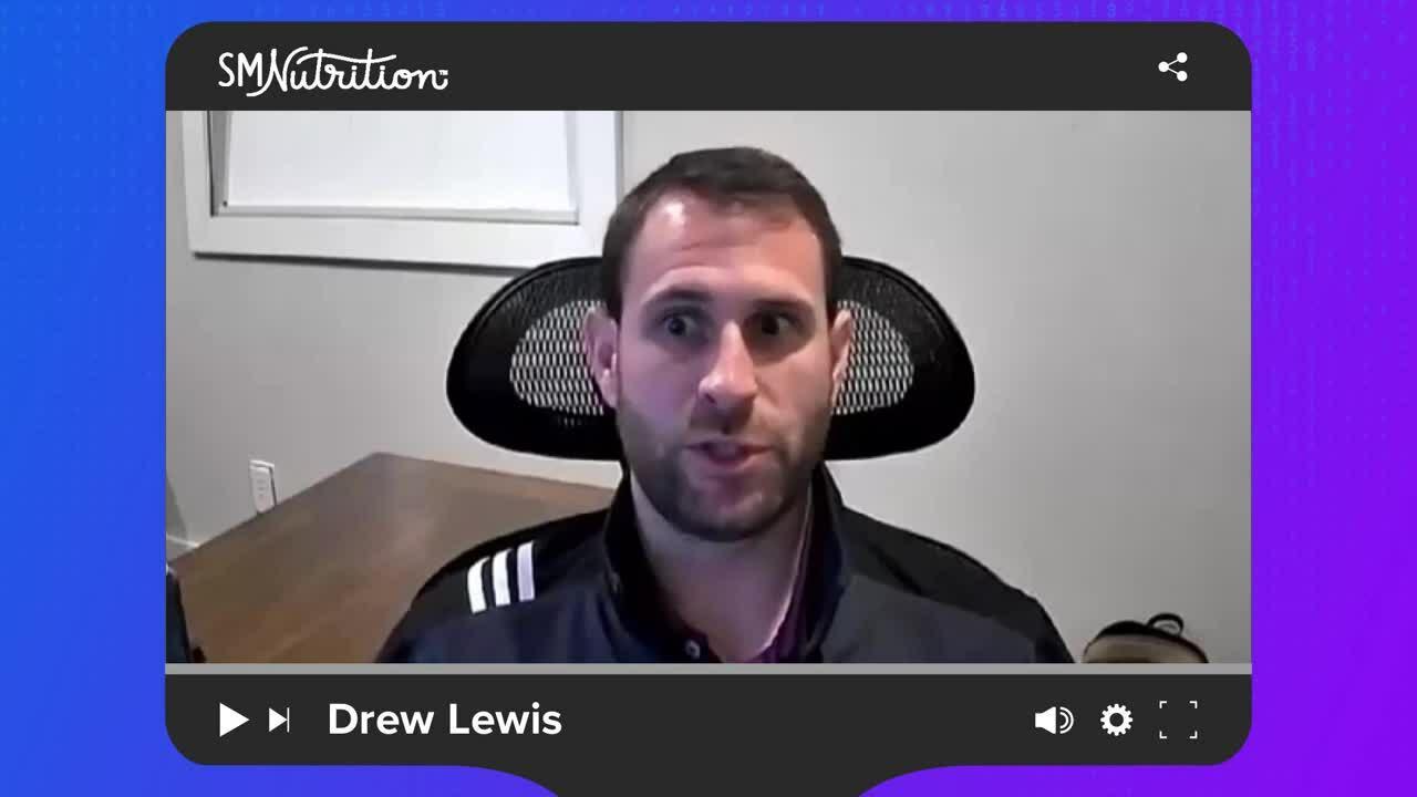 Drew Lewis _ SMNutrition _ Salsify Customer Spotlight Video