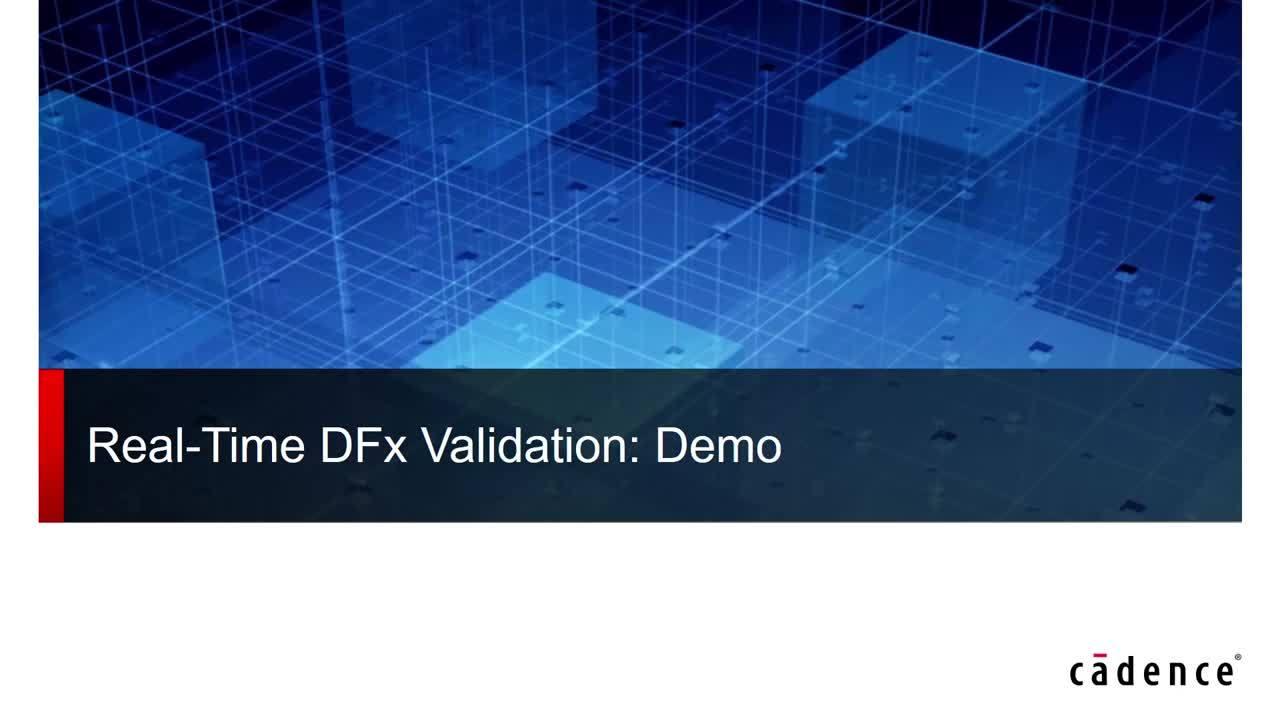 Webinar: Real-Time DFX Validation