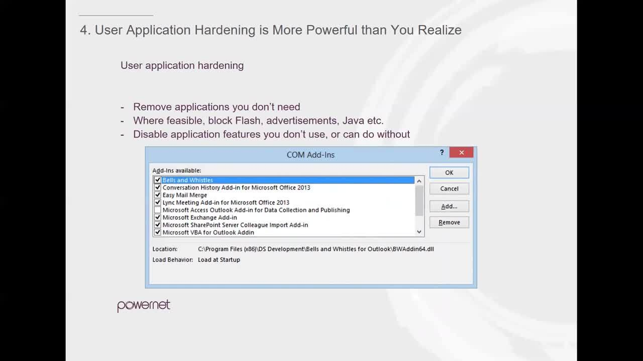 Powernet ASD Explainer