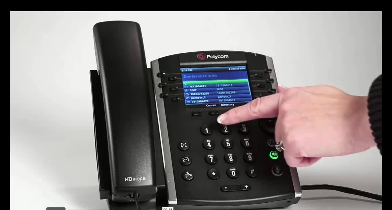 VVX400-Conference call