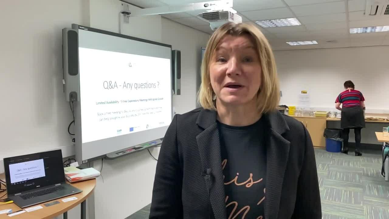 Lisa Fleming - Lisa Fleming Communications - Ignite Growth Workshop Testimonial - February 2020