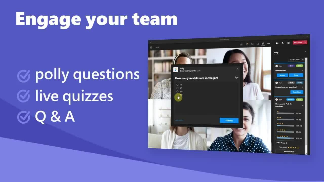 Polly for Microsoft Teams Meetings