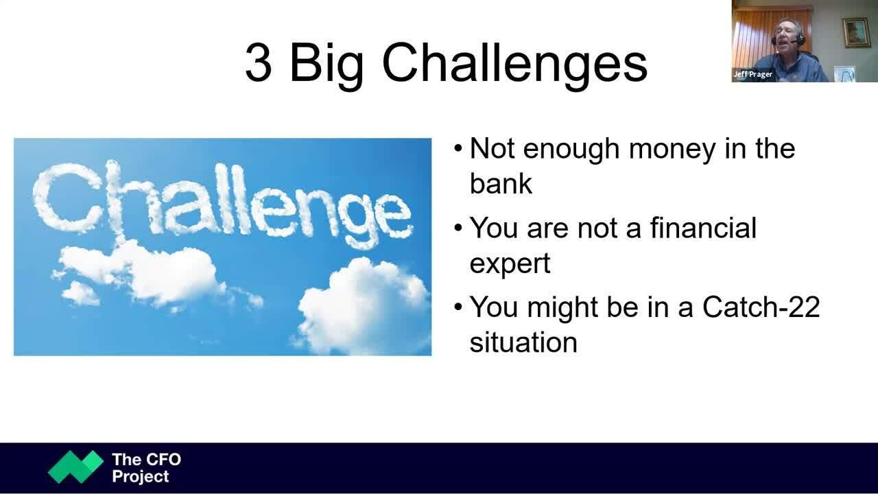 3 Critical Financial Hurdles to Overcome