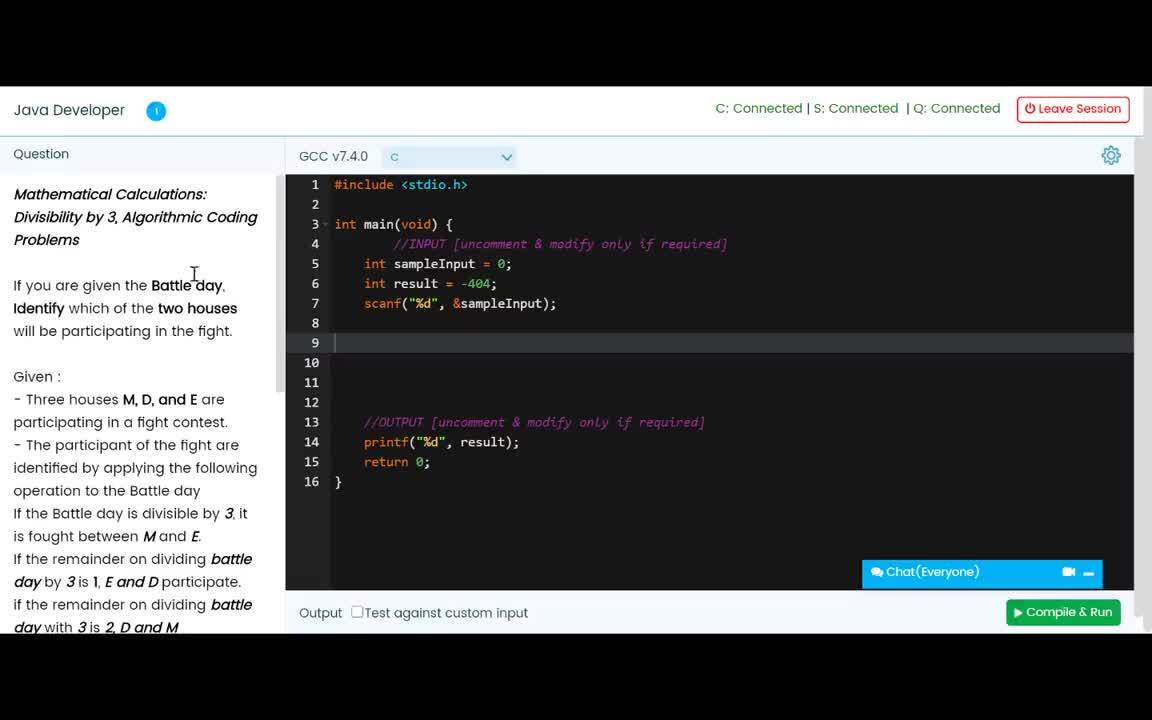 Live Coding Interview - How does the Live Coding Interview Session look like for candidates