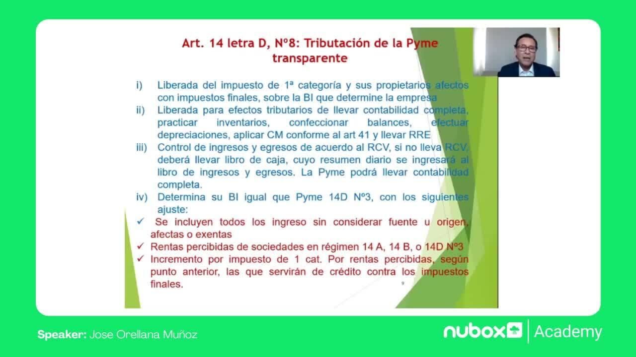 Régimen Propyme 14D N°8