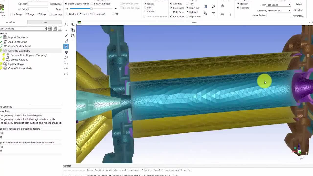 ANSYS Fluent Mosaic Meshing for CFD Simulations