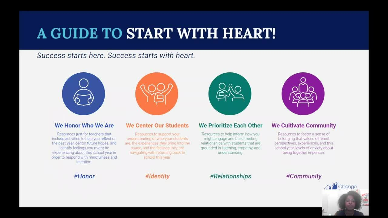 Clip of Start with Heart Trailer for Blog