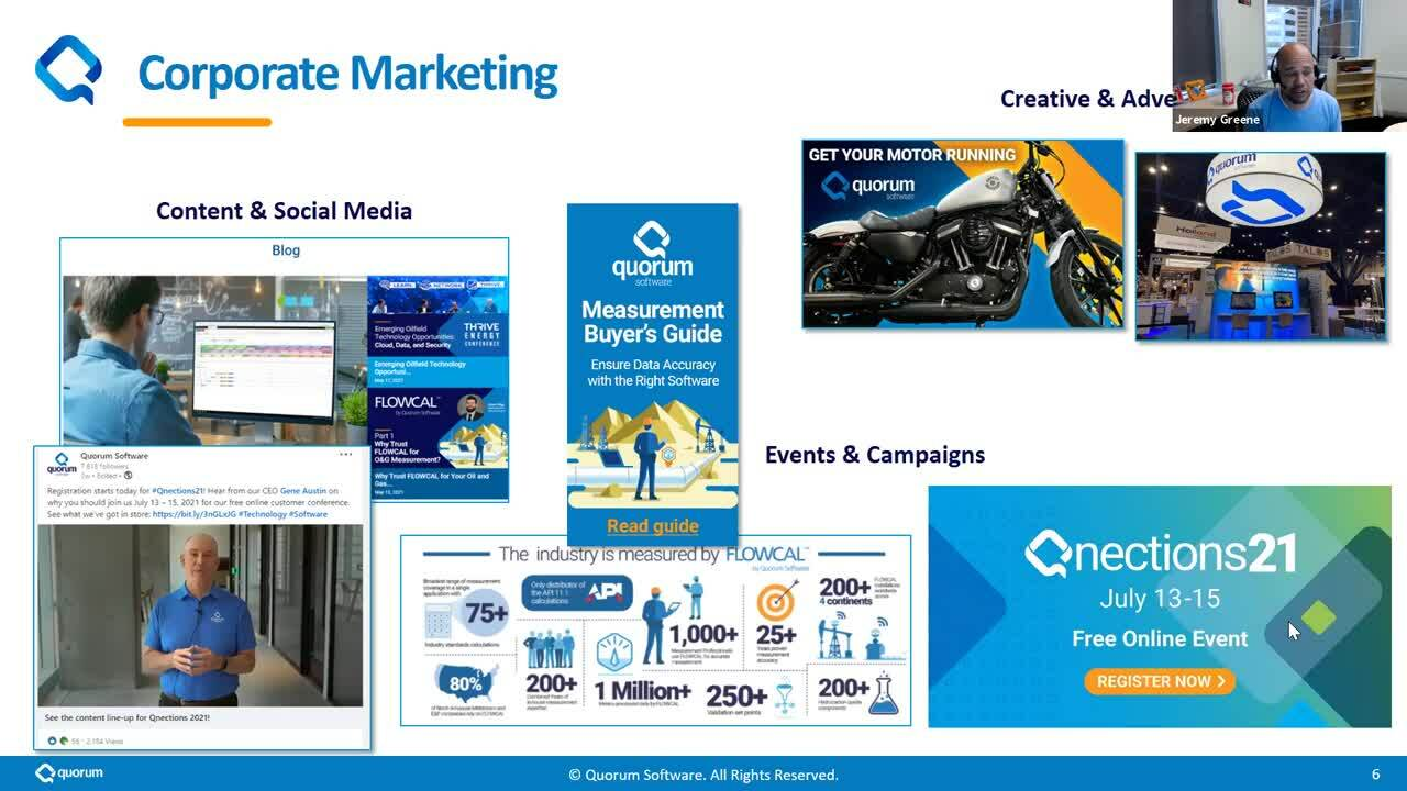 Sales and Marketing Virtual Open House