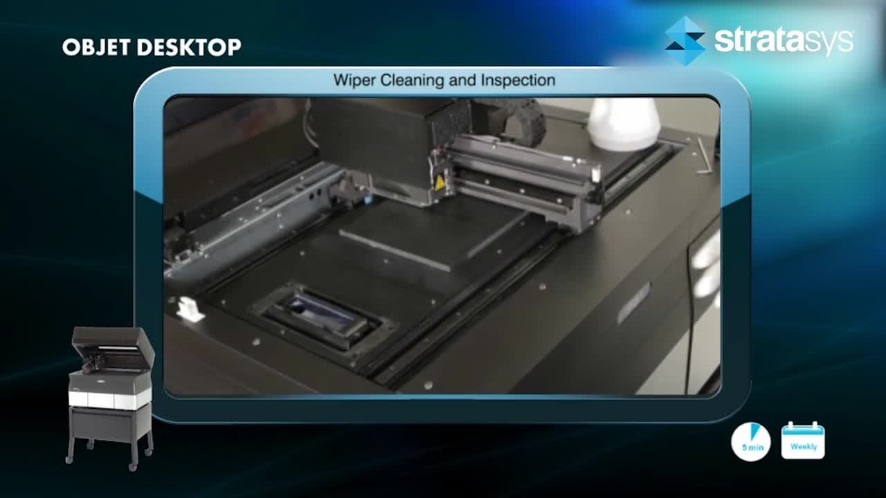 Wiper Assembly Cleaning - Desktop