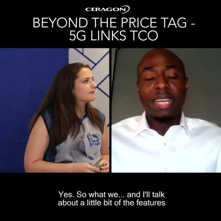 Beyond The Price Tag - 5G Links TCO