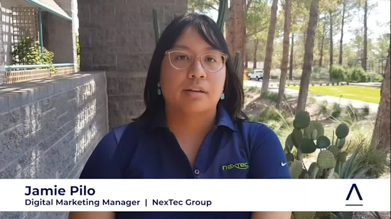 Jamie Pilo NexTec Video Testimonial