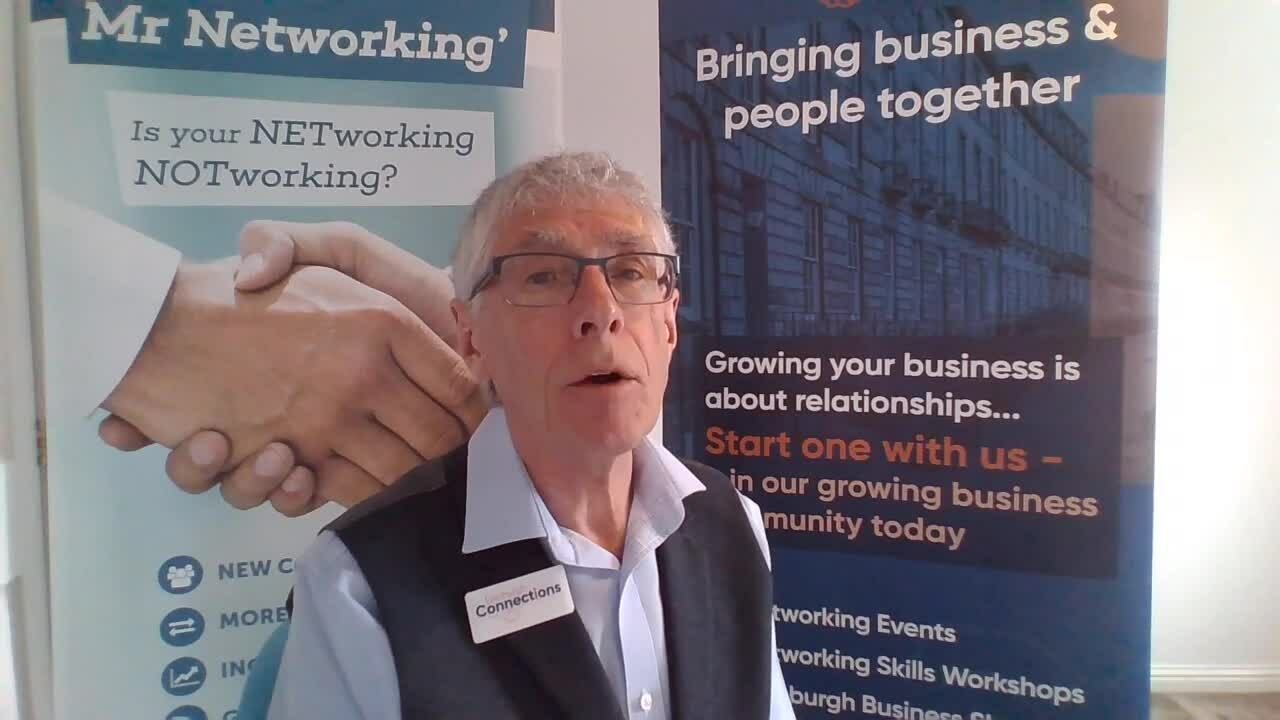 Colin McKeand on benefits of paid membership with Edinburgh Connections (1)