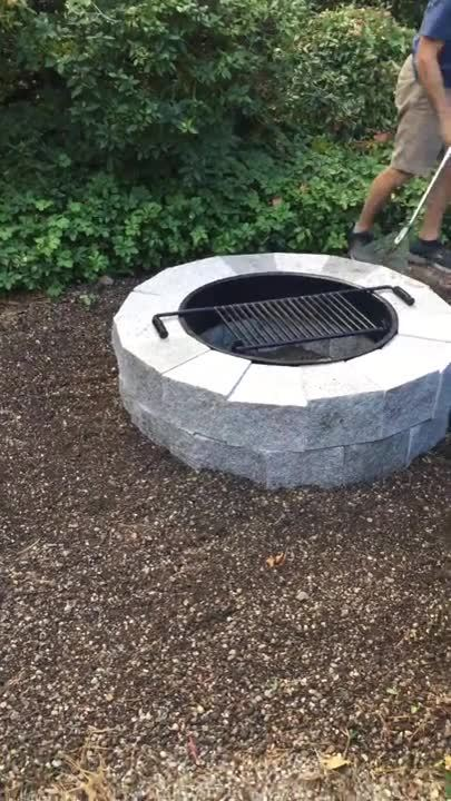 Edit Blog Post - How a Granite Fire Pit Completed the Look of a New England Family's Nantucket Style
