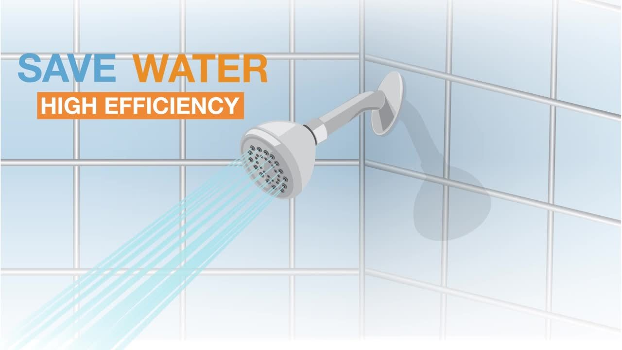 See how much your new efficient showerhead or aerator can save