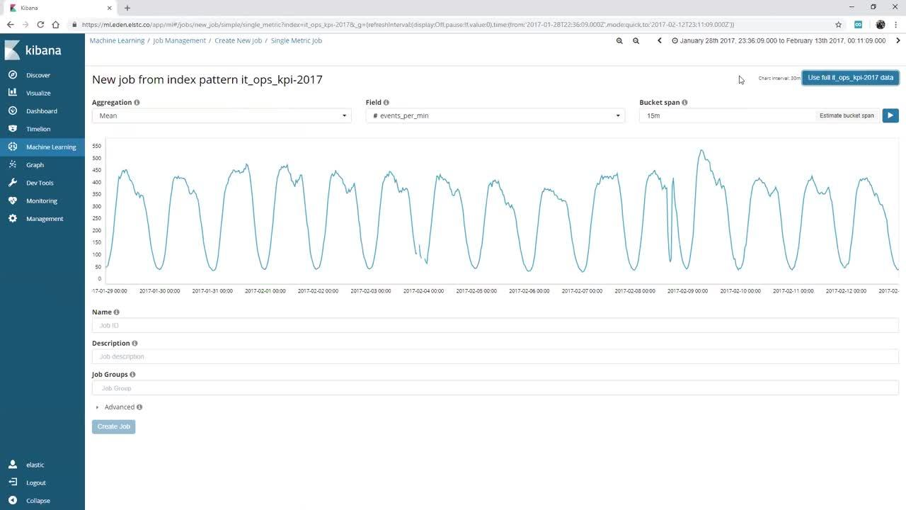 Video for Starte mit Machine Learning im Elastic Stack