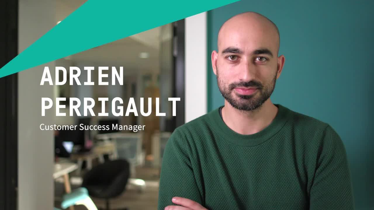 Adrien Perrigault Customer Success Manager