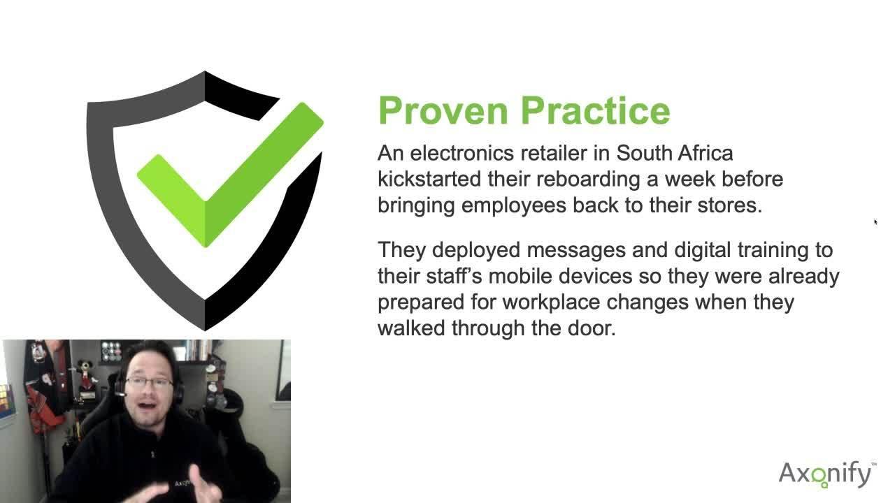Reboarding Proven Practice Example