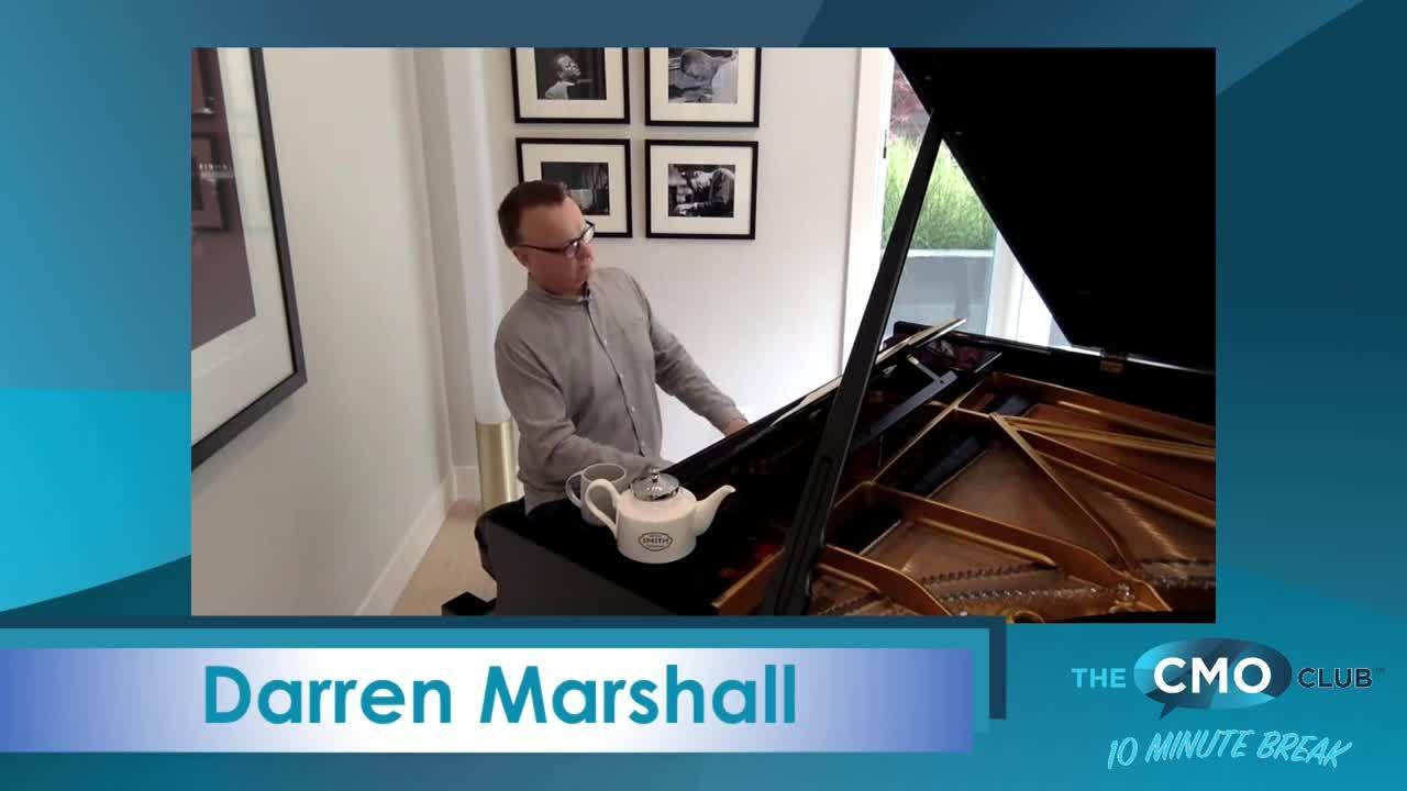 The CMO Club 10 Minute Break with Darren Marshall