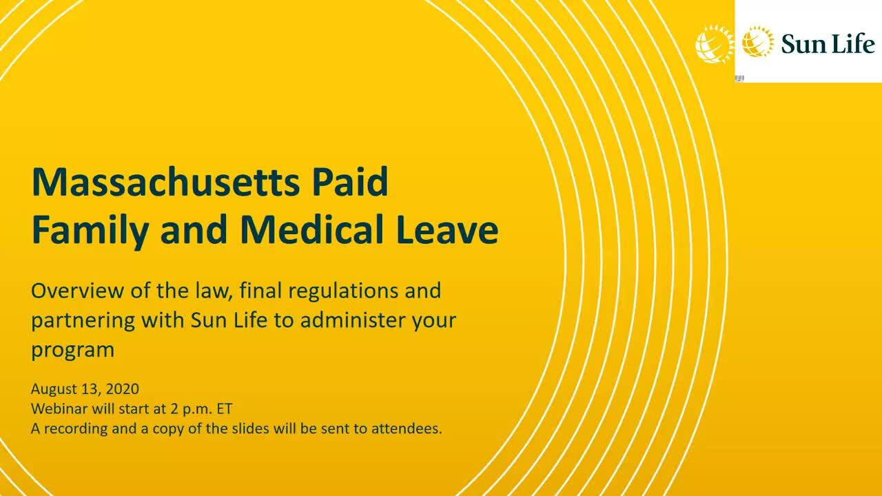 Massachusetts Paid Family and Medical Leave