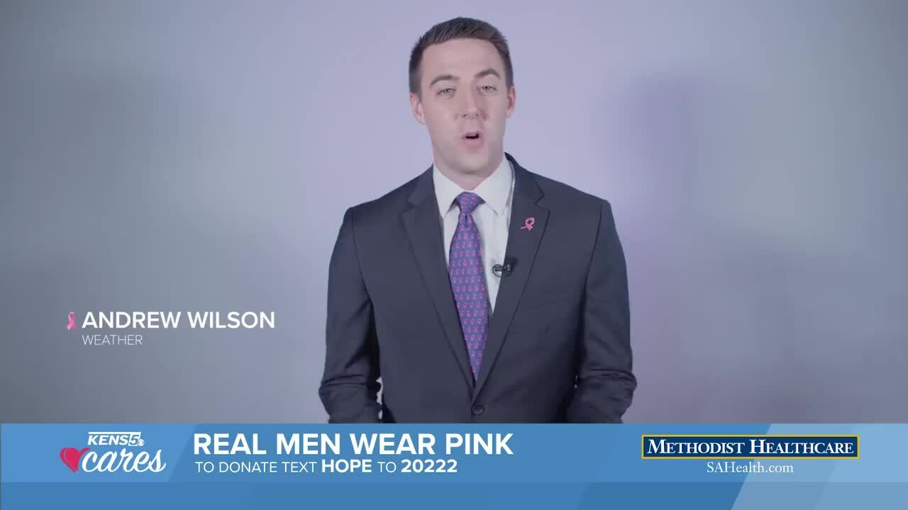 American Cancer society wear pink-embed
