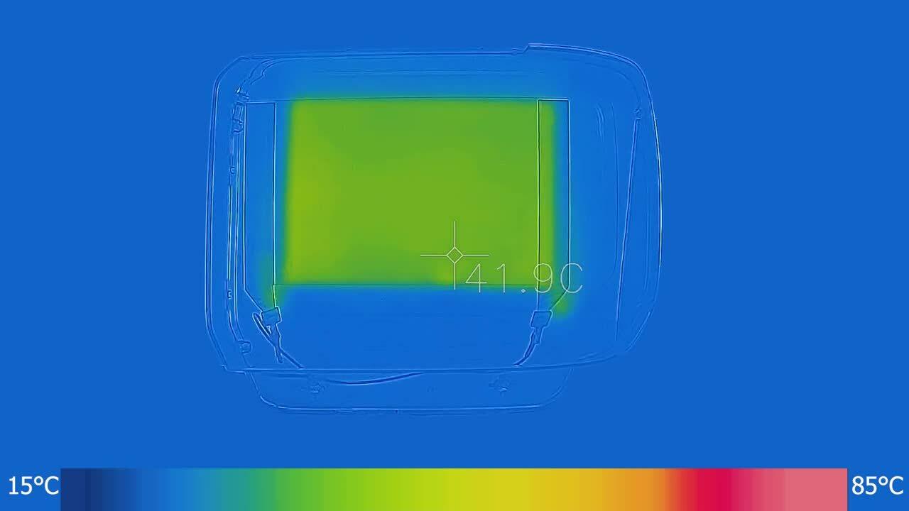 (Demo) Truck Headlamp-Heating-Thermal Fast-1080p