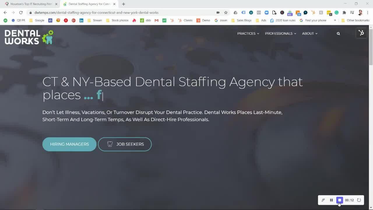 Dentalworks background