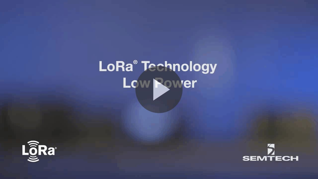 Long Range, Low Power RF Transceiver with LoRa Technology