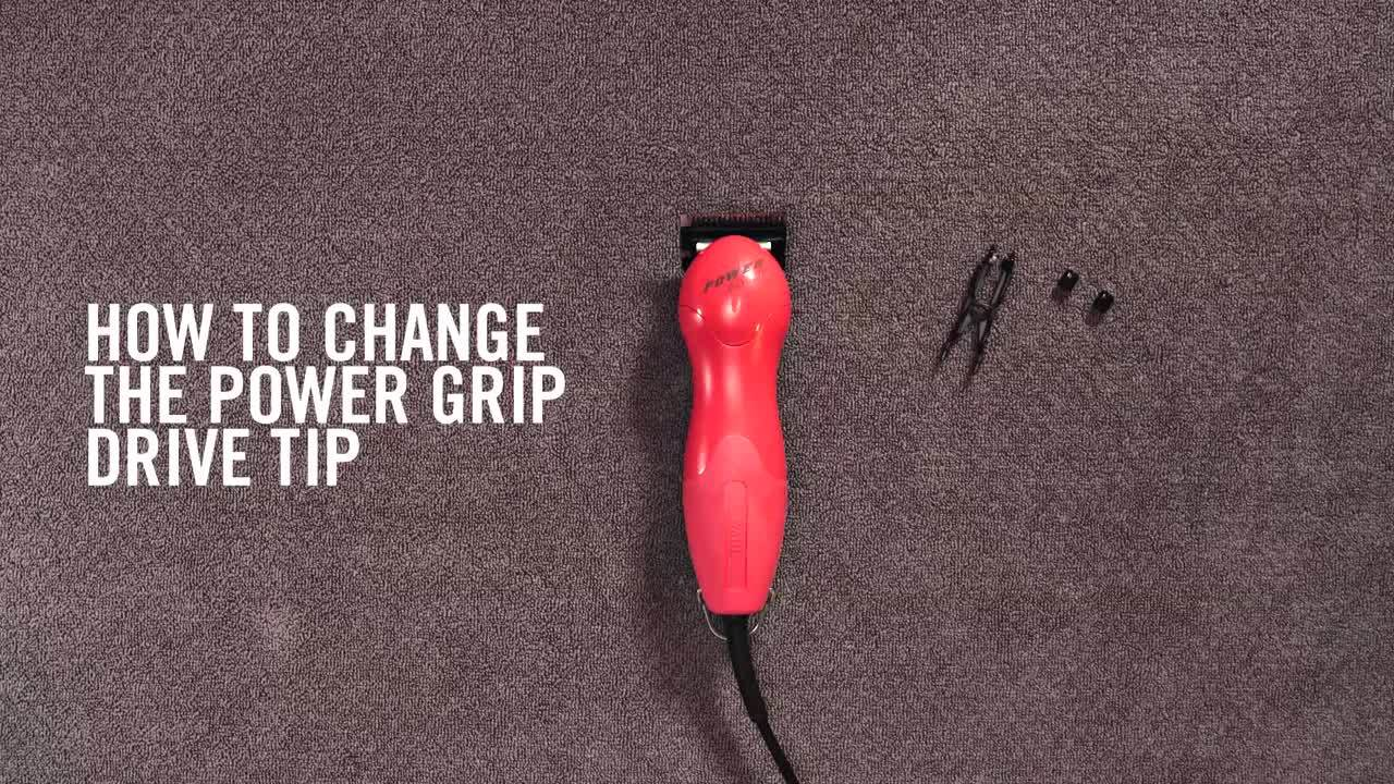 WAHL How to Change the Wahl Power Grip Drive Tips...