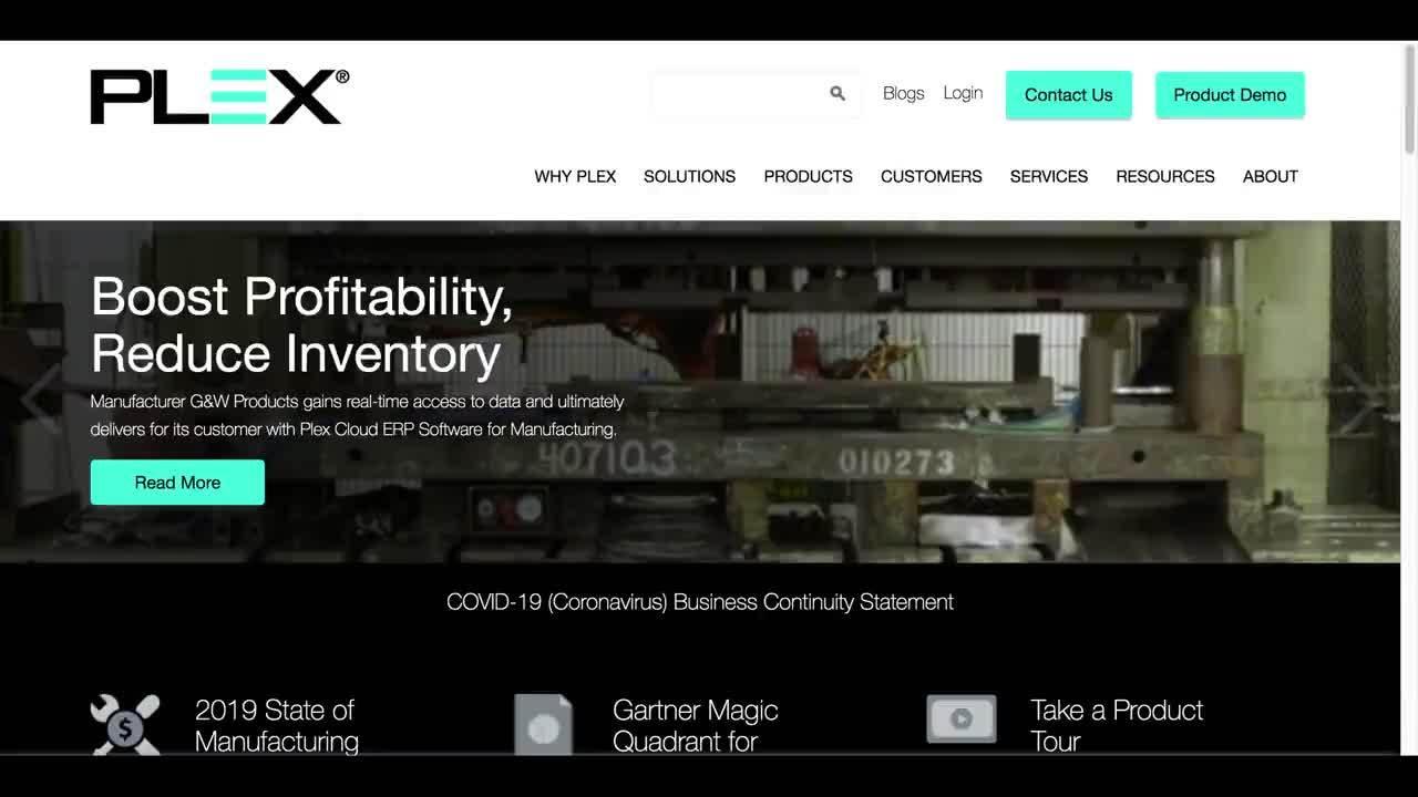 Plex Website