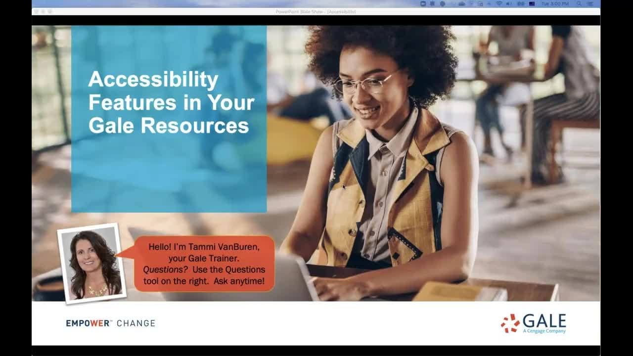 Accessibility Features in Your Gale Resources Thumbnail