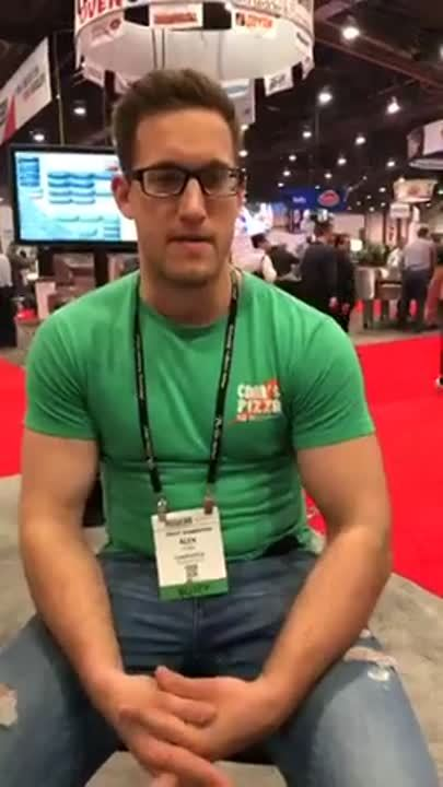 Interview with Alex Funk with Chad's Pizza in Cedar Falls at Pizza Expo 2019