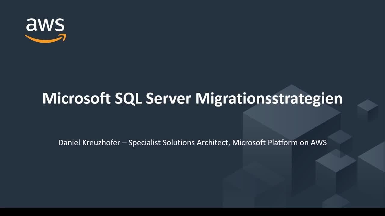 Microsoft SQL Server Migrationsstrategien