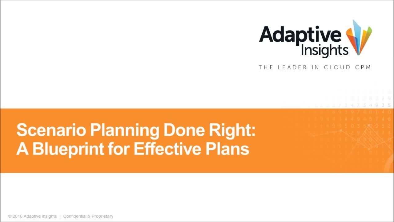 Screenshot for Scenario Planning Done Right: A Blueprint for Effective Plans