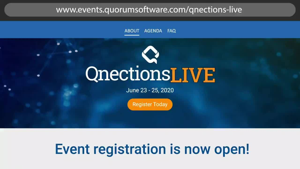 Quorum Software Hosts Virtual Customer Conference Benefitting the Cystic Fibrosis Foundation