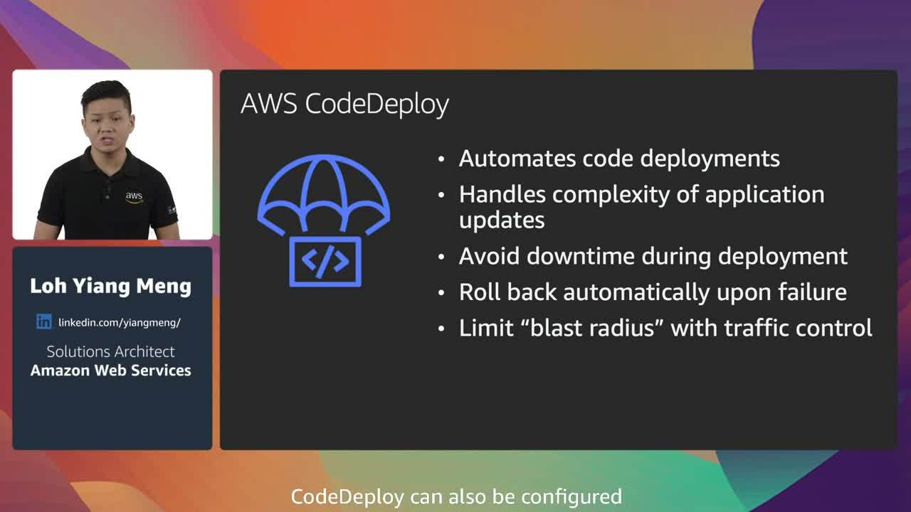 CI/CD at scale: Best practices with AWS DevOps services