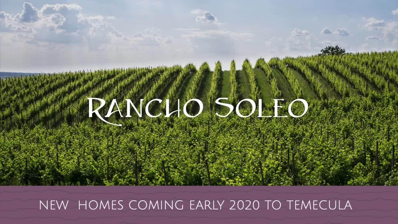 Rancho Soleo Progress Video #1 - Drone Footage