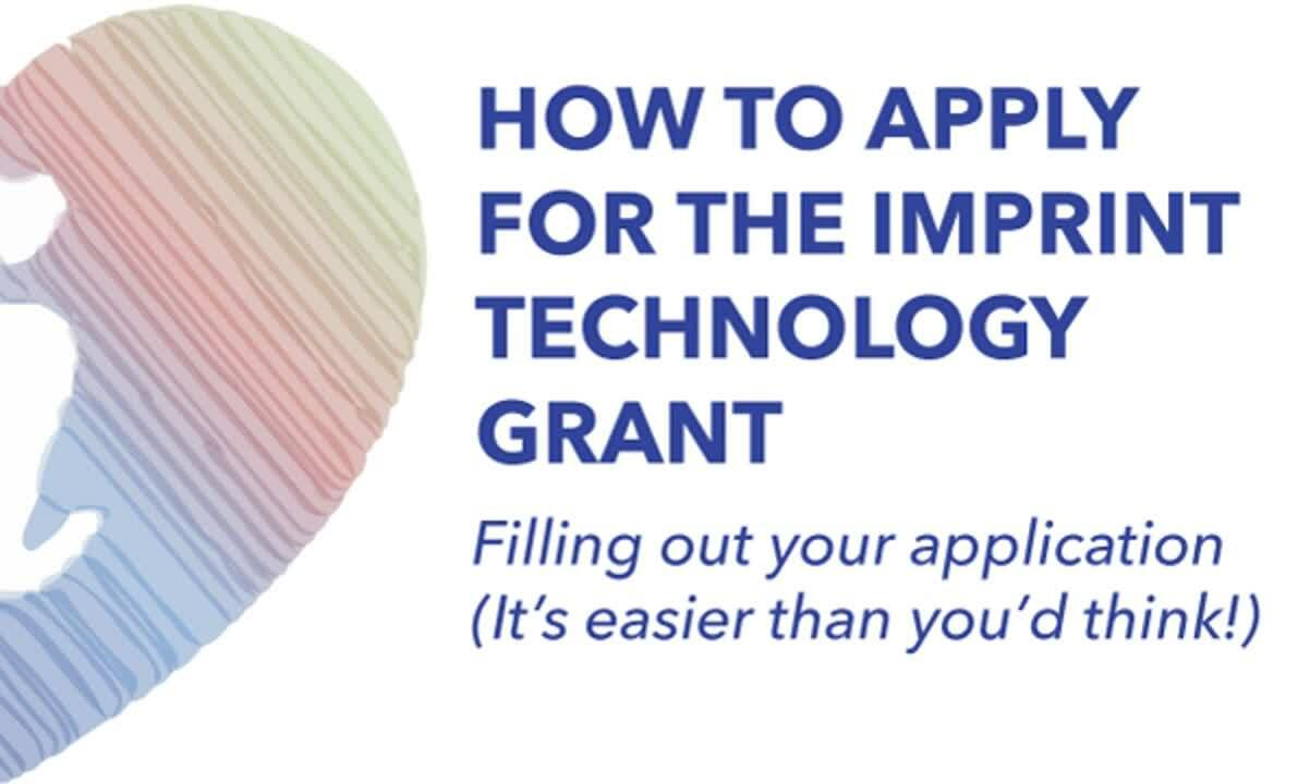 Imprint Tech Grant How To Apply