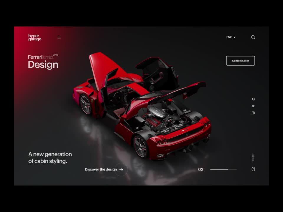 Ferrari enzo srolling-1