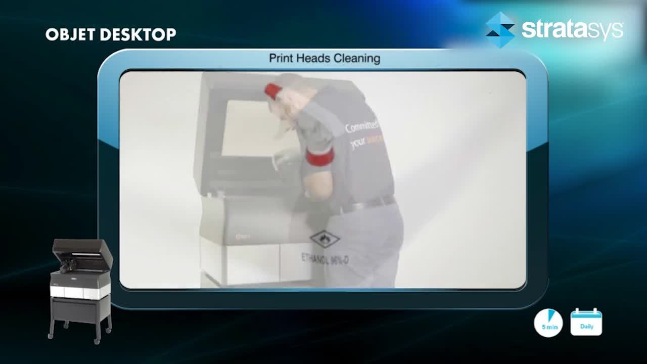 Print Head Cleaning - Desktop