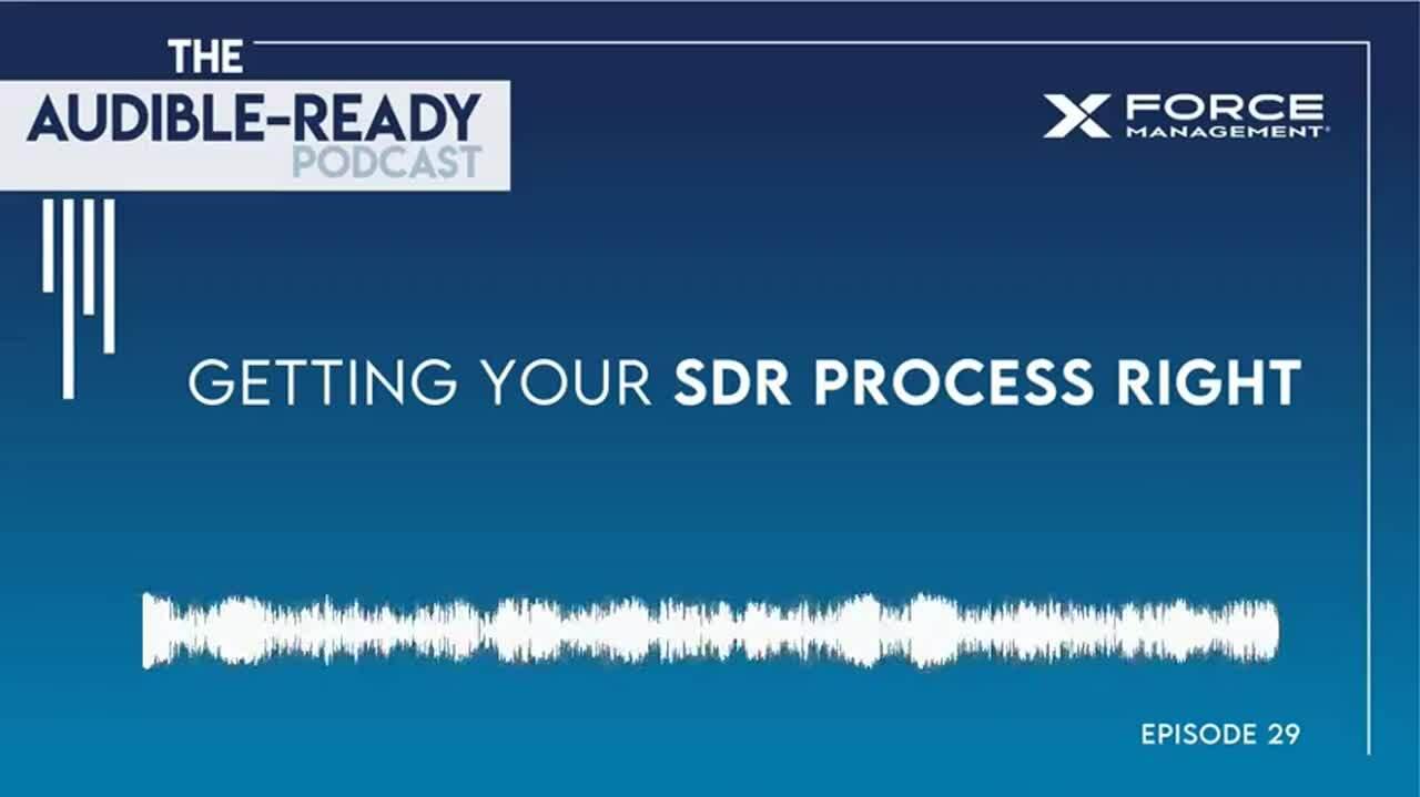 Ep 29 Podcast Teaser (SDR Process)