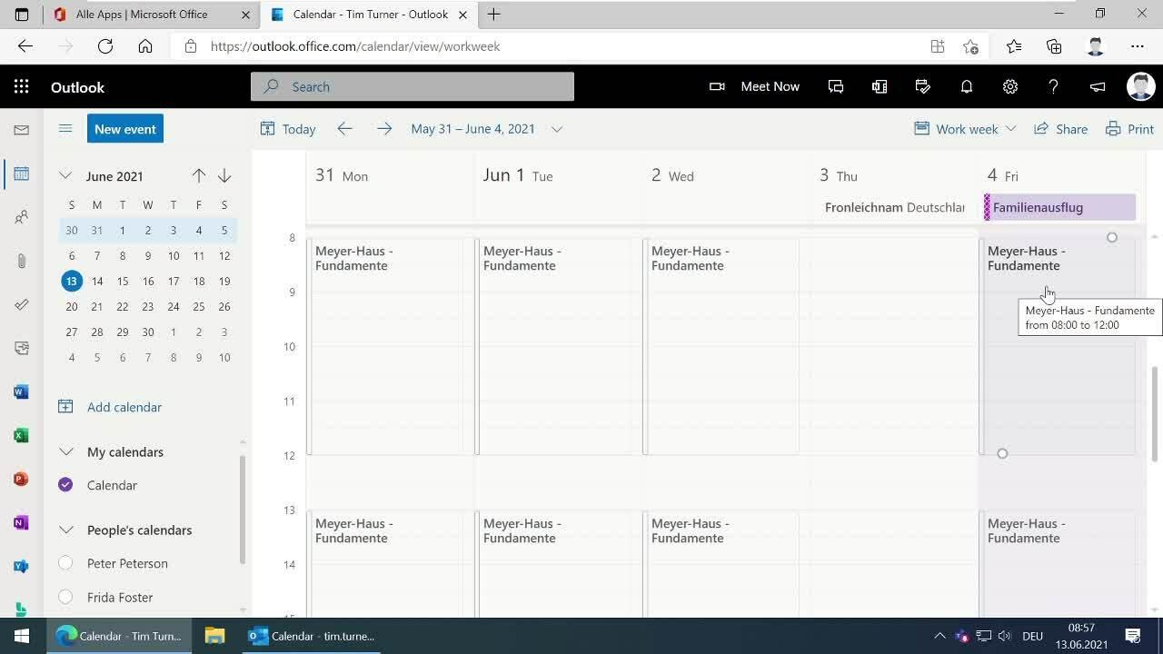 5 Microsoft 365 Kalender