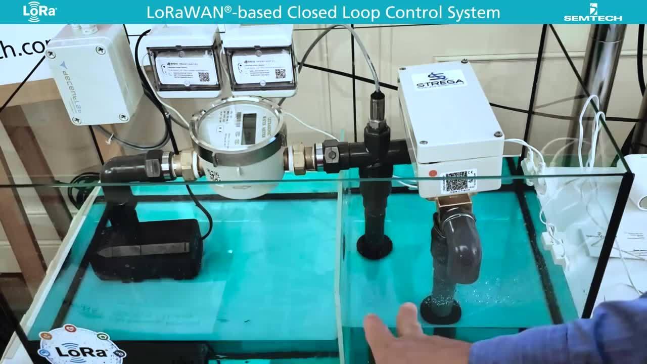 LoRa Demo - Closed Loop Control System MASTER