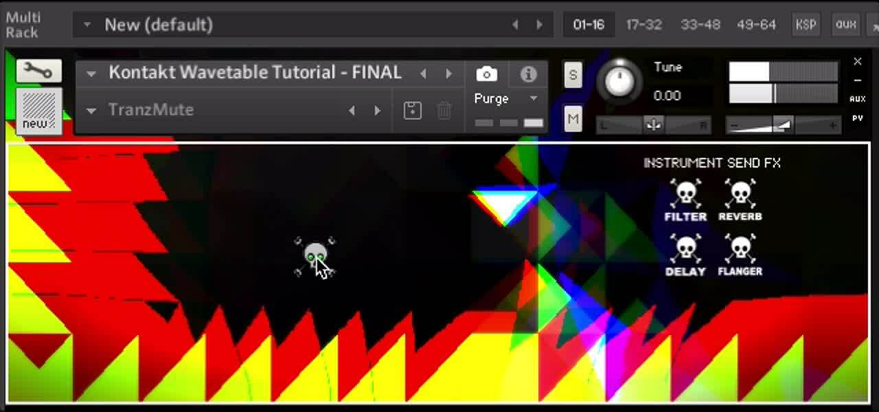 Kontakt Wavetable XY Pad Demo (edit)
