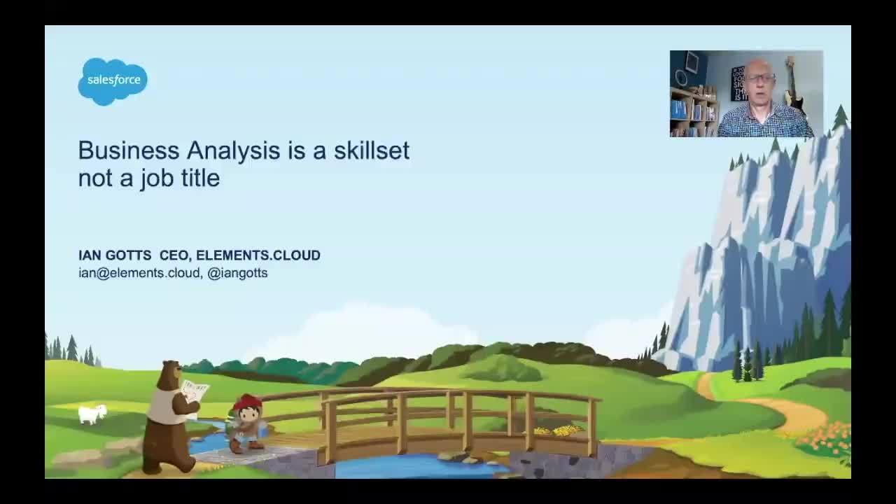 Business Analysis is a Skillset, not a Job Title.