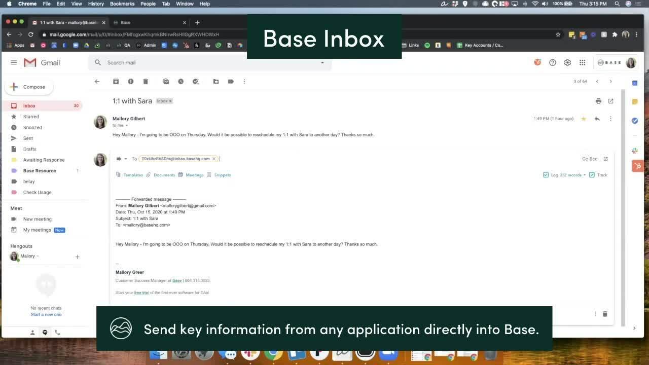 Base Inbox - summit