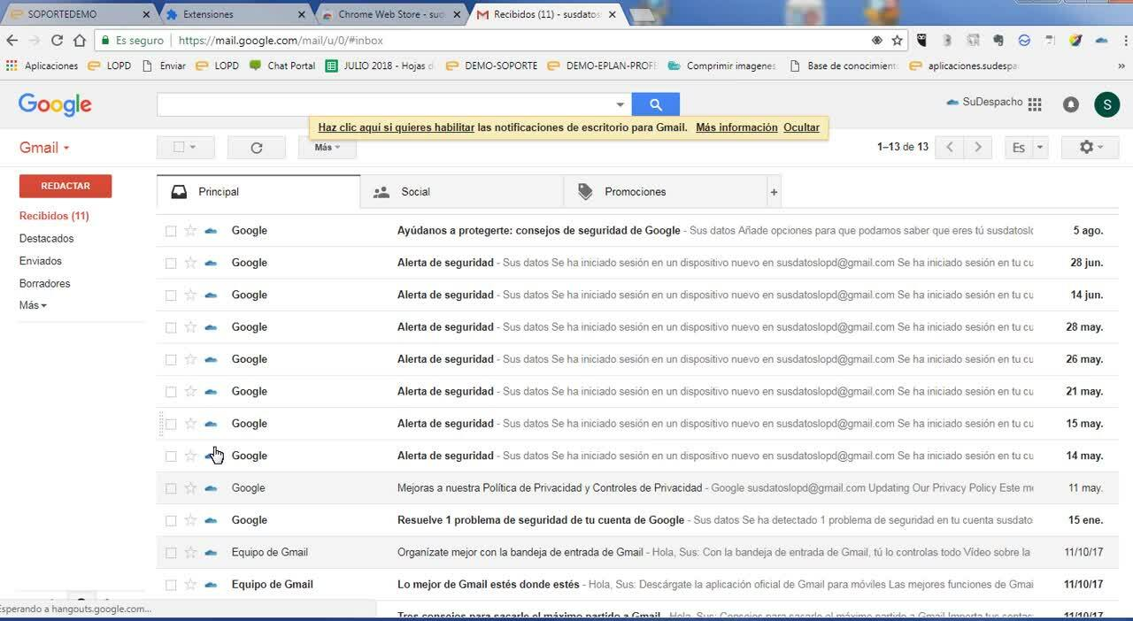 Extension-Gmail