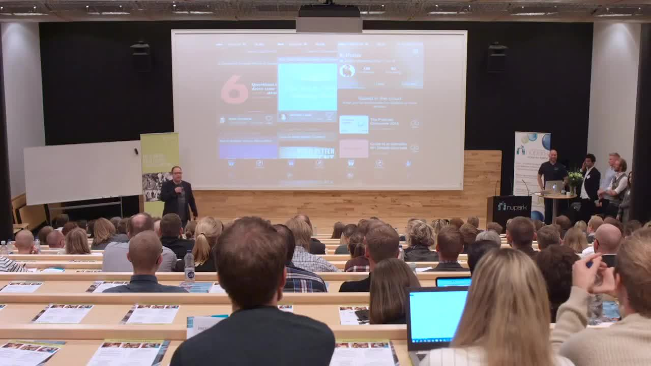 Case videooptagelse af konference