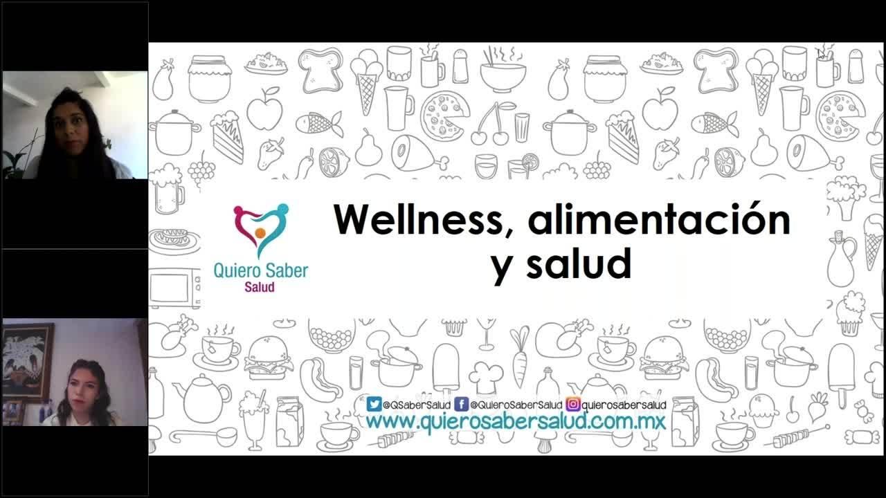 30 clip webinar Wellness, alimentación y salud